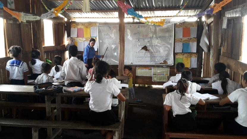 Construction d'une école pour les enfants de Preah Ang Kiev