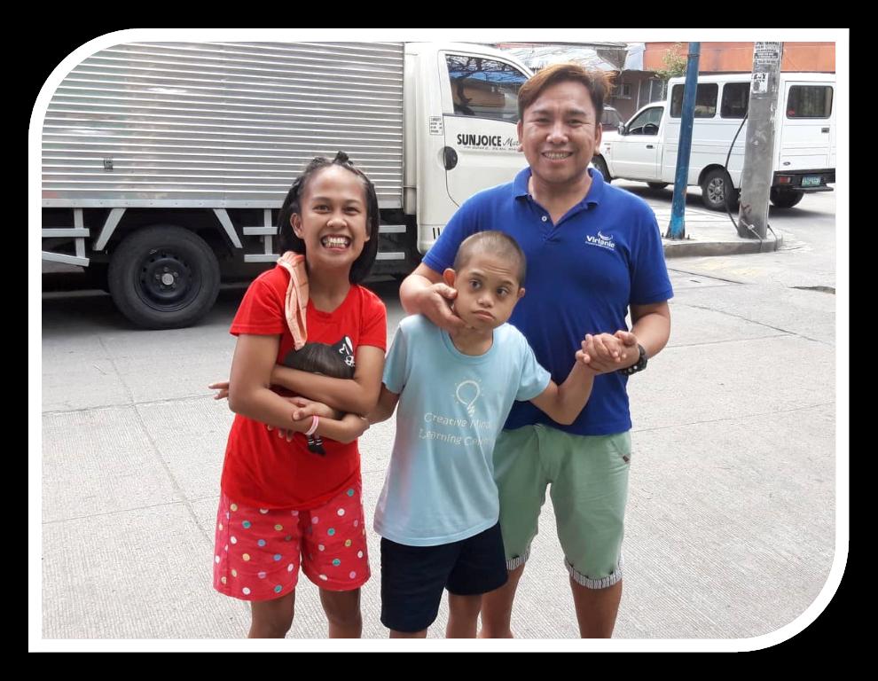 Soutenir des enfants handicapés de Manille aux Philippines