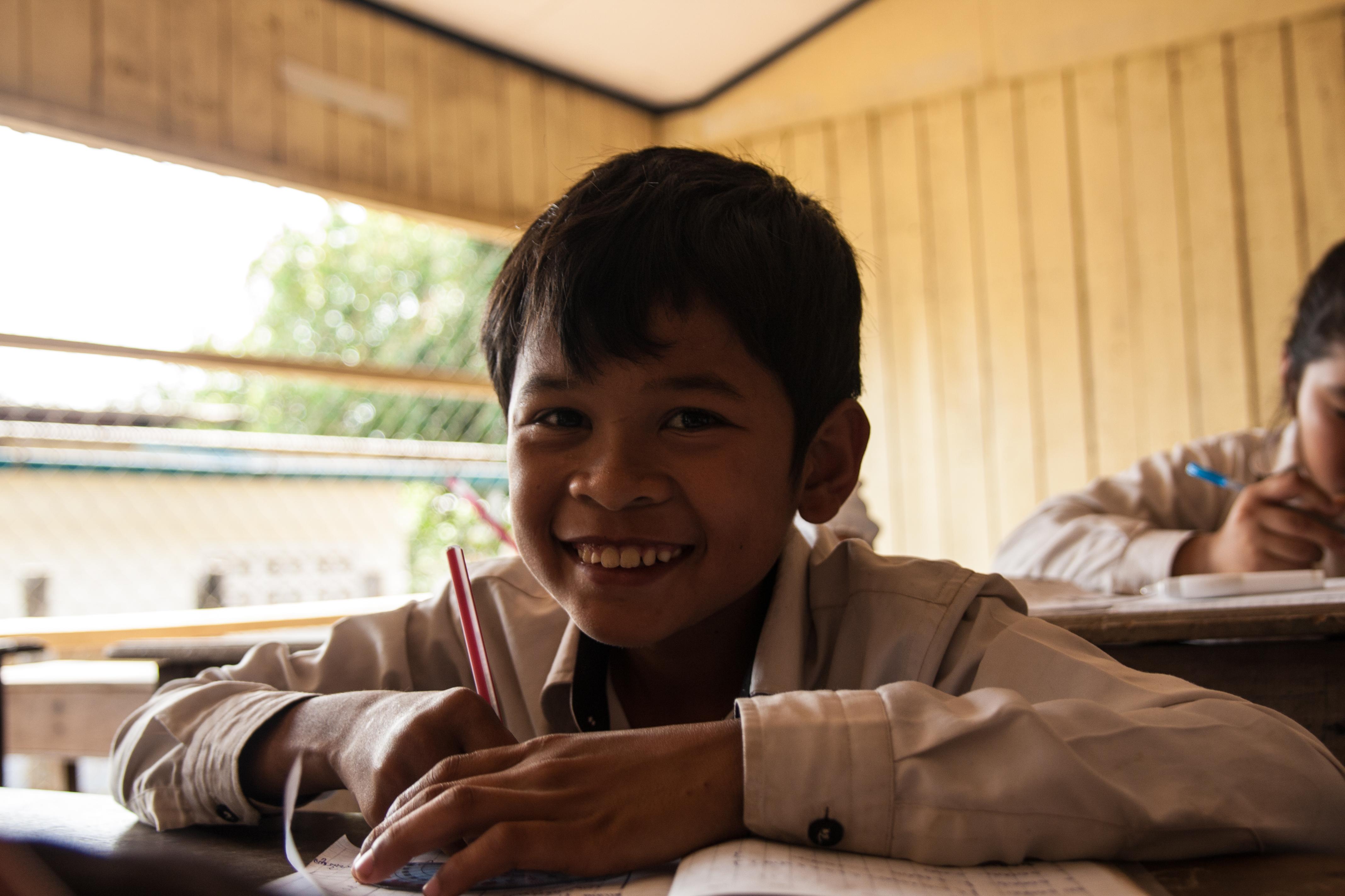 Aider nos jeunes à poursuivre leurs études en 2018 au centre de Sisophon au Cambodge