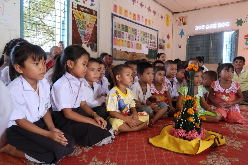 Construction d'une nouvelle école pour les enfants de Nasavanh au Laos