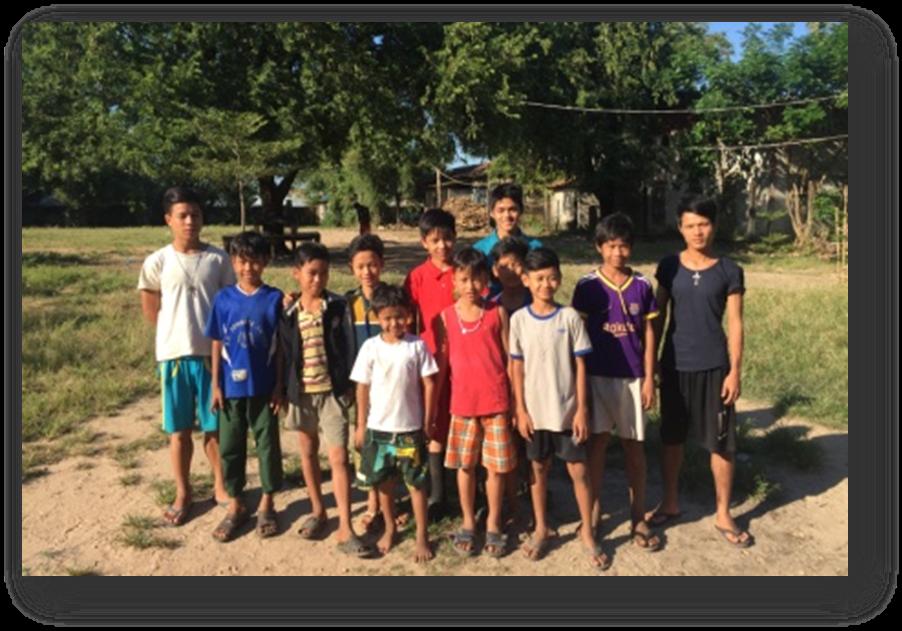 Achat de 9 vélos pour les garçons de Pathein en Birmanie