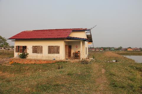 Construction d'un foyer d'étudiants à Vientiane